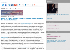phoenix plastic surgeon, phoenix plastic surgery, breast implants, breast augmentation